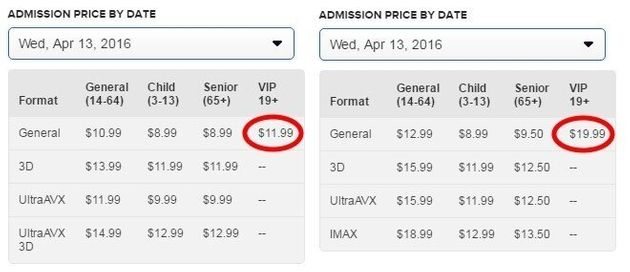 Cineplex Half-Price VIP Tickets A Strong Sign We Need More
