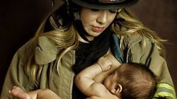 Photo Of Breastfeeding Mom In Uniform Is Empowering