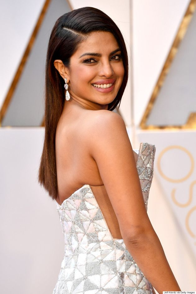 Priyanka Chopra Stuns In A Geometric Ralph & Russo Couture Gown At The 2017