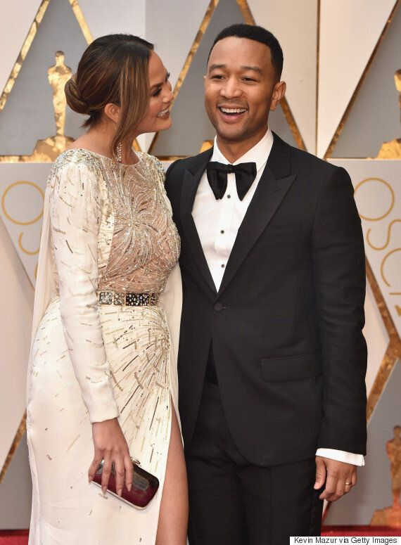 Chrissy Teigen And John Legend Are The Most Adorbs Oscars Couple Yet
