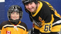 This Hockey Dad Got To Play For The First Time At