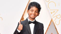'Lion' Star Sunny Pawar Totally Owned The Oscars Red