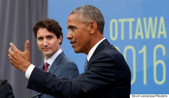Trudeau And Obama Announce Ban On Offshore Oil And Gas Licenses In