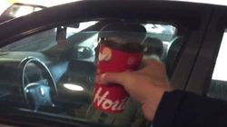 CBC Reporter Saves Tim Hortons Cup In Year's Most Canadian