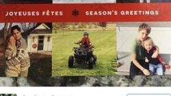 PM's Holiday Card Features Matchy Sweaters, Yoga And Adorable