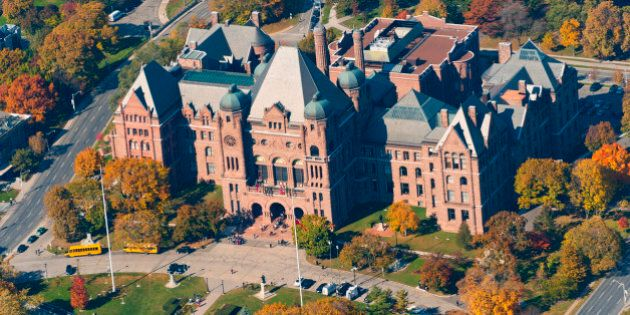 Queen's Park is an urban park in Downtown Toronto, Ontario, Canada. Opened in 1860 by Edward, Prince...