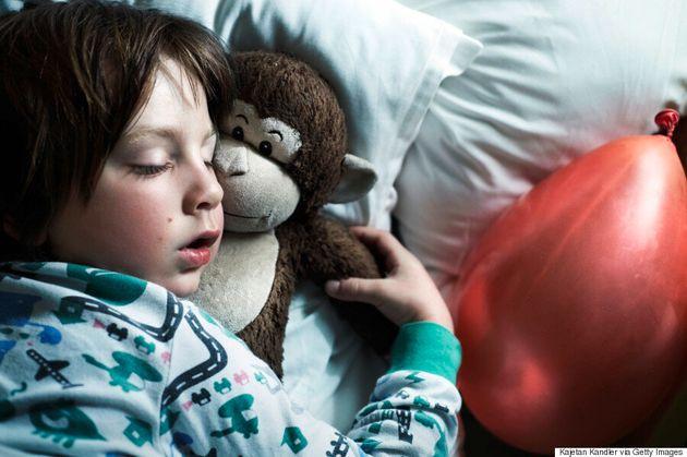 Kids Aren't Easily Woken When Fire Alarms Go