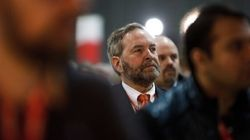 Mulcair's Plan To Linger As NDP Leader Raises