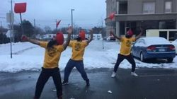 Snow-Shovelling Bhangra Routine Is As Canadian As It