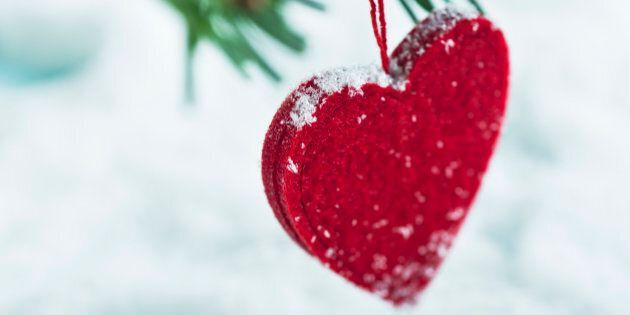 Heart-shaped Christmas