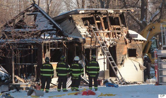 Oneida Nation Of The Thames House Fire Suspected To Have Killed
