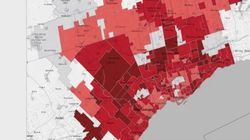These Heat Maps Show Canadians Piling On Debt At Frightening