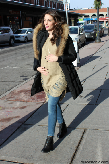 7bb3804ce394 Stylish Winter Maternity Coats For The Modern Mom | HuffPost Canada