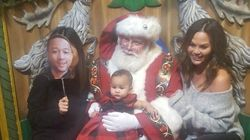 Chrissy Teigen Shares Hilarious First 'Family' Photo With