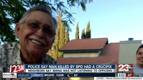 Francisco Serna, Man Shot By Bakersfield Police, Had Crucifix, Not