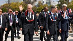 Dion Pledges Renewed Anti-Nuke Effort After Visiting