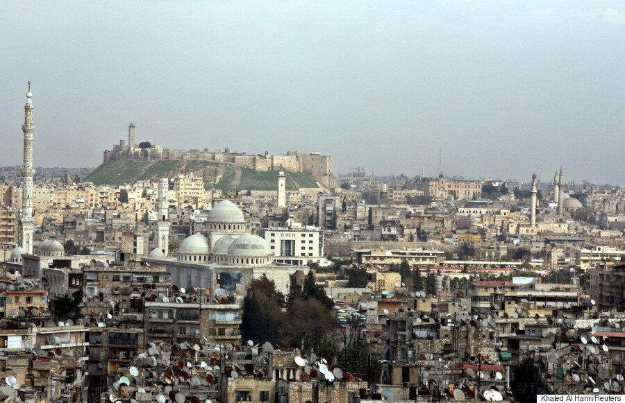 Aleppo Before The War Was A Bustling, Historic