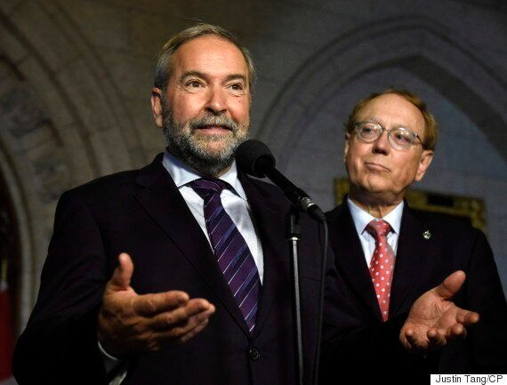 Mulcair Suggests Liberal Fundraiser Controversy Has Exposed
