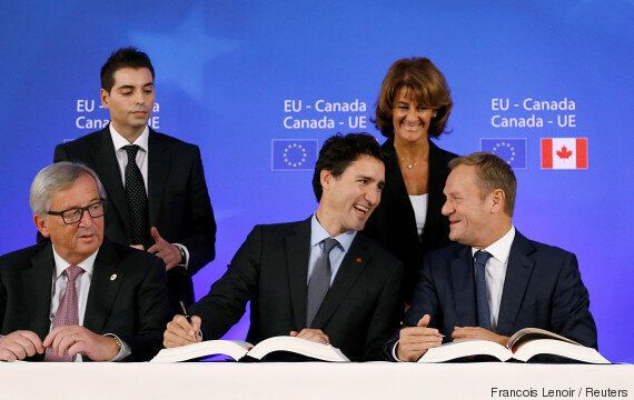Trudeau's Claim That CETA Works For Everyone Contains 'Some
