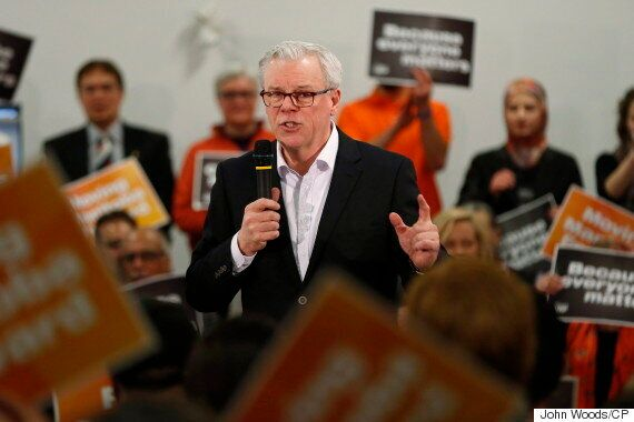 Mantioba Election 2016: Greg Selinger Calls Brian Pallister