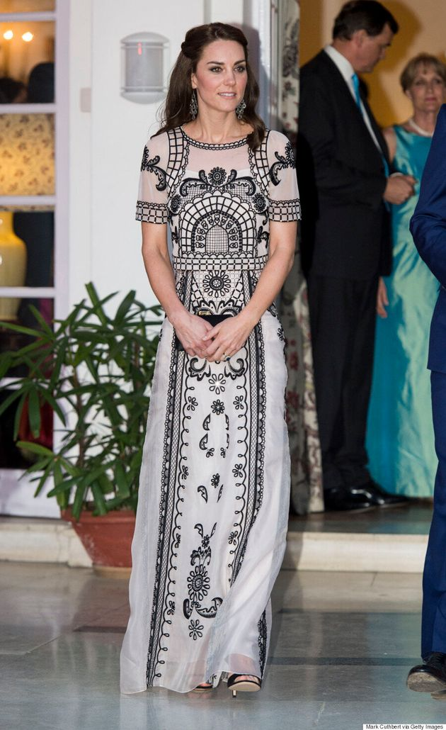 Kate Middleton Continues Style Reign On Royal Tour Of India With Emilia Wickstead, Temperley London