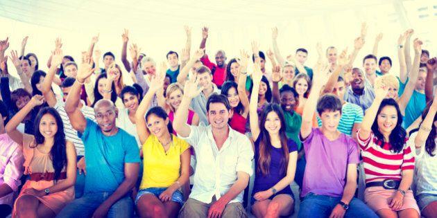 Diversity Casual Team Cheerful Community