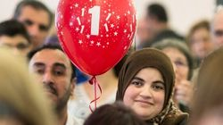 Syrian Refugees Celebrate One Year In
