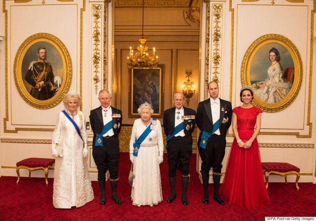 Kate Middleton Wears Princess Diana's Favourite Tiara To Diplomatic