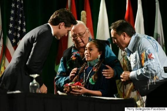 Autumn Peltier Asks Prime Minister Trudeau To Protect Canada's