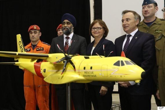 Canada To $2.3B On 16 Airbus Search-And-Rescue