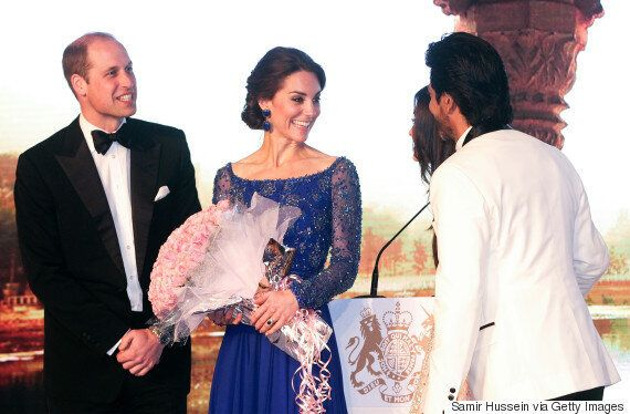 Aishwarya Rai, Shah Rukh Khan, Other Bollywood Royalty Meet U.K. Royals William And