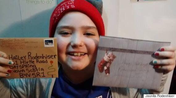 Hailey Rodenhiser, Nova Scotia Girl Battling Cancer, Asks For Christmas