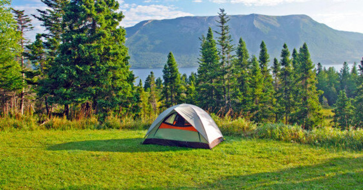 30 Of The Best Places To Camp In Canada