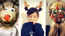 Ridiculously Cute Christmas Hairstyles For Your Little