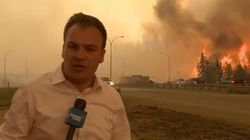 Reporter's Close Call With Fort Mac Fire Makes YouTube Top