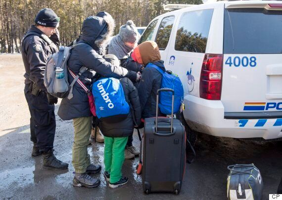 New Brunswick Refugee Claimants At Border Spike In