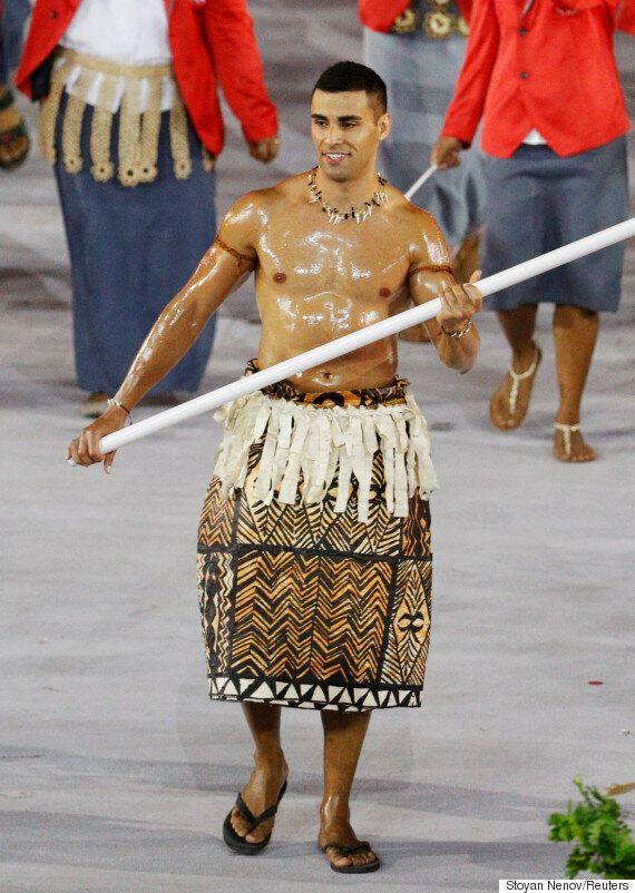 Pita Taufatofua, Tonga Olympic Flag-Bearer, Trades Taekwondo For Cross-Country