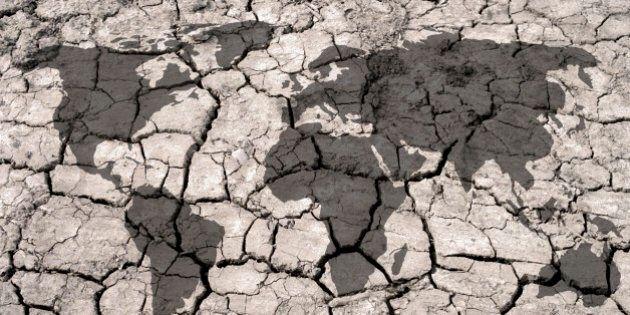 Climate change, conceptual illustration.