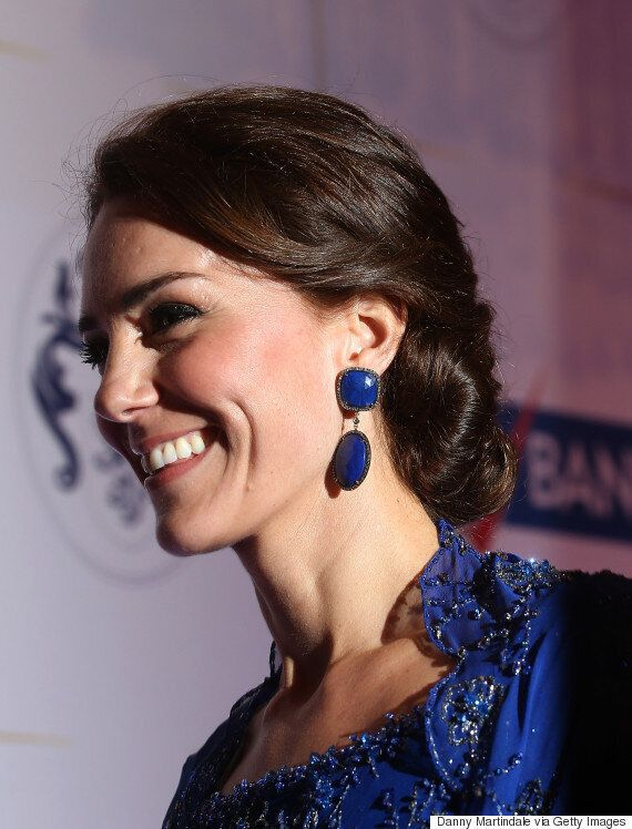 Duchess Of Cambridge Steps Out In McQueen, Jenny Packham for First Day Of Royal