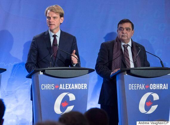 Michael Chong Blasts Kellie Leitch, Chris Alexander In Debate