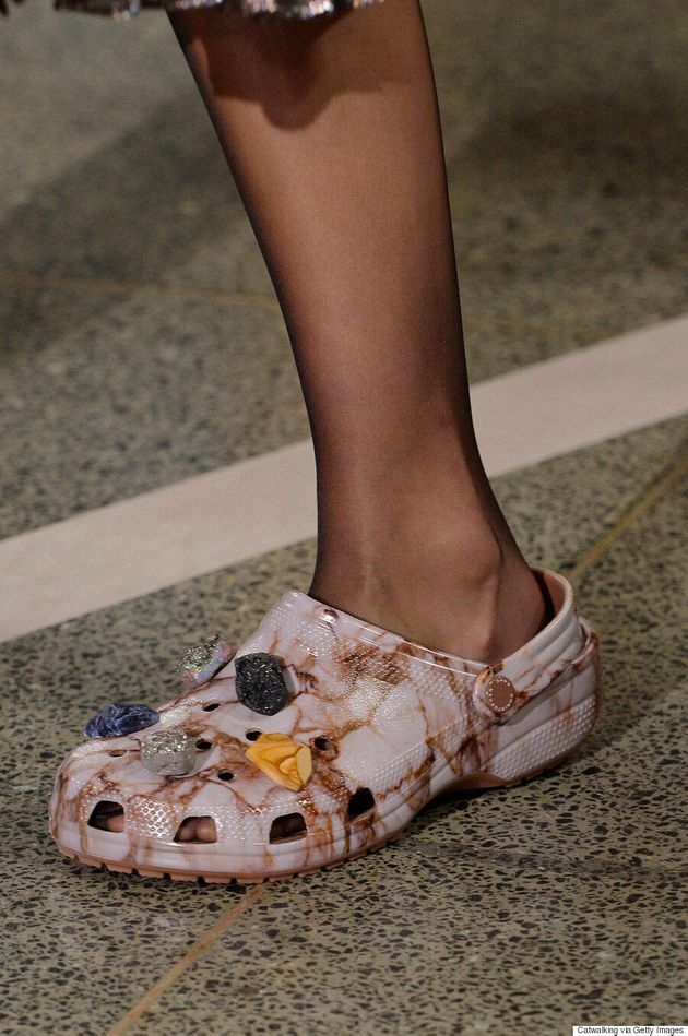 Crocs Get A 'High-Fashion' Makeover By Christopher Kane At London Fashion