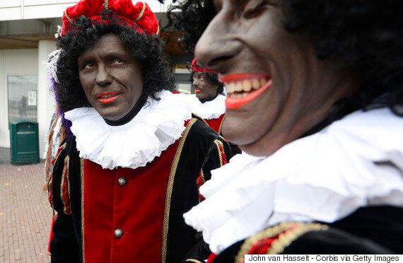 Zwarte Piet, Or Black Pete, Part Of Edmonton Sinterklaas