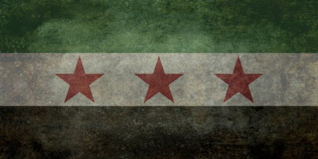 National Flag used by the Syrian National Coalition and Syrian Interim
