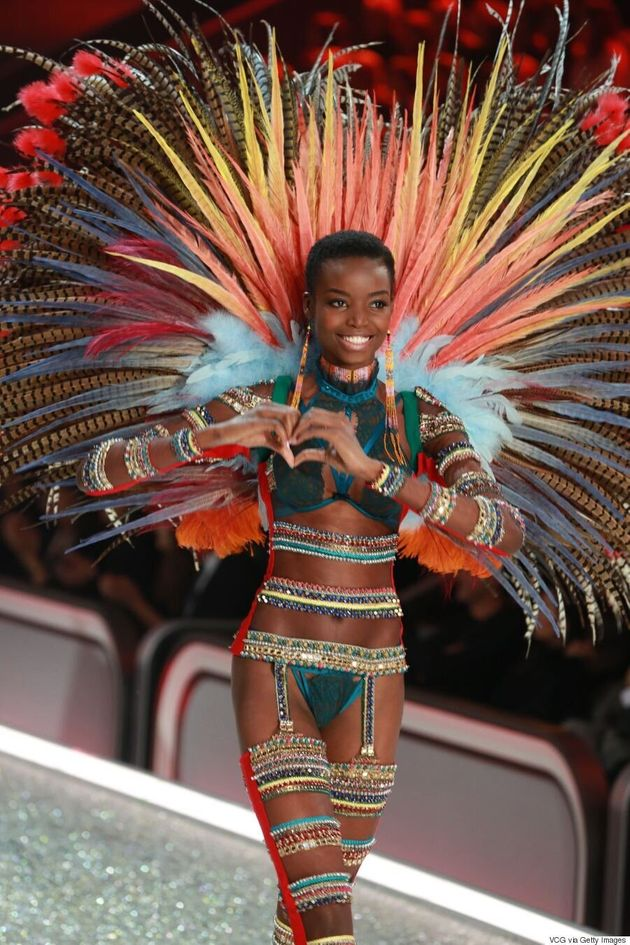 Victoria's Secret Celebrated Natural Hair On The 2016 Fashion Show