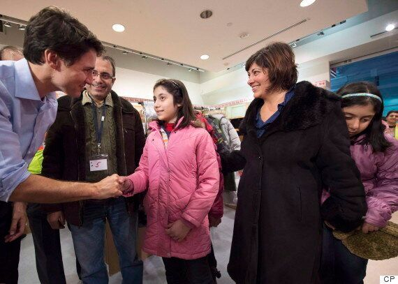Trudeau Cries During Reunion With Syrian Refugee