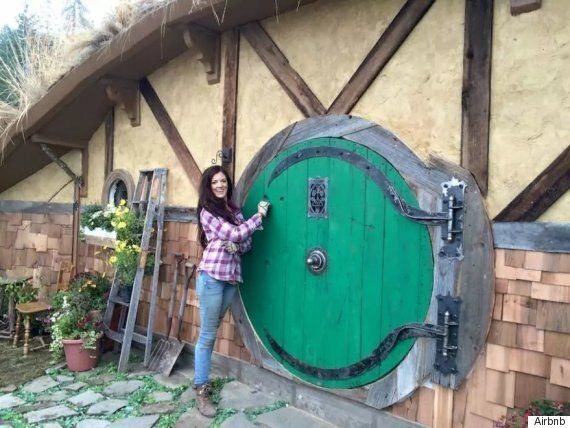Hobbit House Can Be Rented On