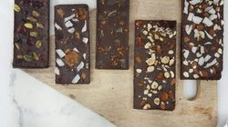 DIY Fruit, Nut And Flower-Laced Chocolate