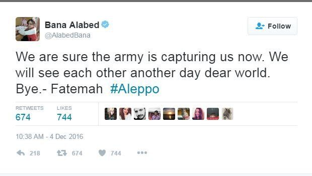 Bana Alabed's Twitter Account Disappears Briefly As Syrian Army Moves Into Eastern