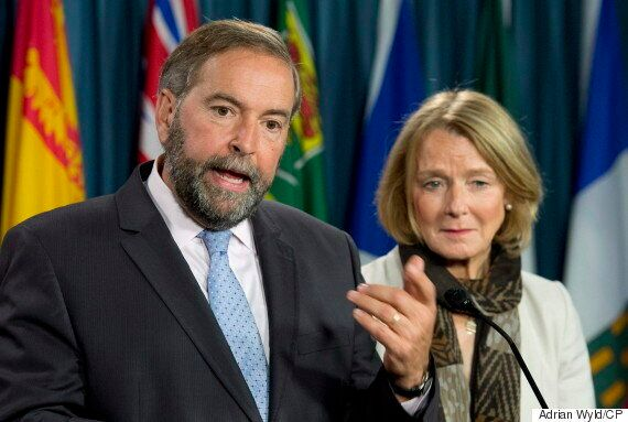 Thomas Mulcair Agrees With Peggy Nash's Criticism Of His Campaign