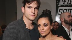 Ashton Kutcher And Mila Kunis Give Son Very Formal